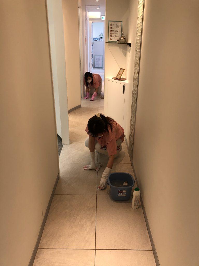 夏の中清掃❣️